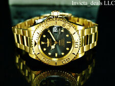 Invicta Men's 40mm Pro Diver Submariner Automatic Charcoal Dial Gold Tone Watch