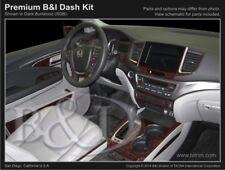 Dash Trim Kit for HONDA PILOT 16 17 carbon fiber wood aluminum