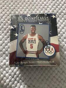 1992 U.S. OLYMPICARDS OLYMPIC HOPEFULS - FACTORY SEALED BOX JORDAN DREAM TEAM