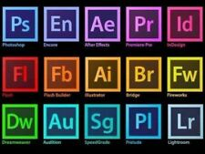 all Adobe products 1 user