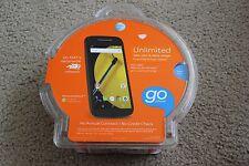New Motorola Moto E Black AT&T GSM Go phone Android Smartphone WiFi 4G LTE 8GB