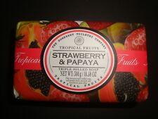 New Somerset Toiletry Made in Portugal 10.58oz Bath Bar Soap Strawberry & Papaya