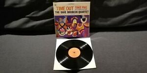 LP THE DAVE BRUBECK QUARTET Time Out '68 1a stampa orig. Italy 1st  S 62068 NM !