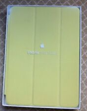 Genuine Apple iPad Air 1st Generation  Smart Case Yellow Real Leather NEW