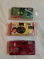 Lot of (3) Miscellaneous disposable cameras