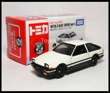 TOMICA DREAM Initial D TOYOTA AE86 TRUENO White 1/61 TOMY Diecast Car 2014 AUG