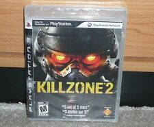 PS3 - KILLZONE 2 (Brand NEW Sealed) CLEAR Case Black Label Hard to Find RARE