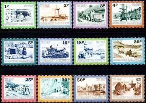 "(Ref-14452) Guernsey 1982 Postage Dues  ""Guernsey Scenes""  SG.D30/D41 Mint (MNH)"