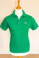 Lacoste Sport Devanlay Mesh Cotton Short Sleeve Polo Shirt Green - Medium Size 3