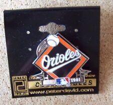 Baltimore Orioles soaring ball on diamond lapel pin MLB c34537
