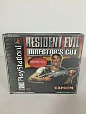 Playstation 1 (PS1) Resident Evil Directors Cut w/ Manual & RE2 Demo Disc - USED