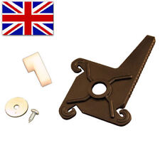 Garage Door REAR LOCKING PLASTIC CRUCIFIX CAM Cardale Wickes Wessex Latch Handle