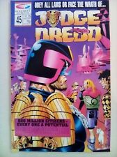 Judge Dredd (Quality) Vol 2 #45 - Comic – used Excellent condition