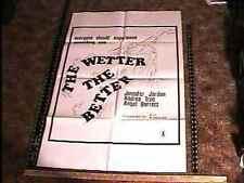 WETTER THE BETTER MOVIE POSTER ANDREA TRUE