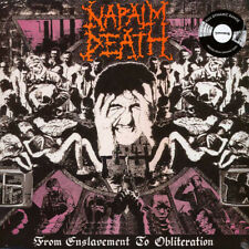 Napalm Death – From Enslavement To Obliteration LP Vinyl New (2017) Grindcore