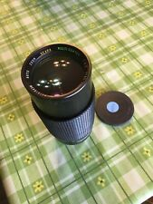 SEARS PENTAX K MOUNT 80-200mm F4 ZOOM LENS