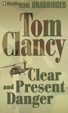 Tom CLANCY / CLEAR and PRESENT DANGER    [ Audiobook ]