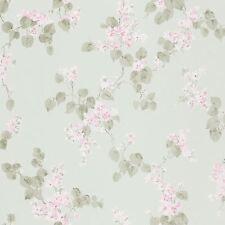 EMILIA FLORAL BLOSSOM WALLPAPER MINT GREEN - RASCH 501537 FLOWERS