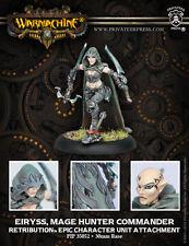 Warmachine BNIB-scyrah-retribución Epic eiryss Mage Hunter Commander