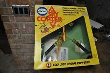Vintage Cox - Sky Copter .020 Free Flight Helicopter, Aurora, Wen Mac -Rare