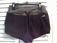 Avia Women's Active Stretch Shorts with Built in Liner XS