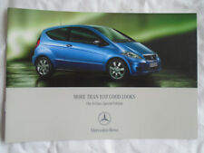 Mercedes A Class Special Edition brochure Aug 2006
