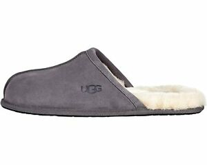 UGG Men's SCUFF Casual Comfort Suede Slip On Slippers DARK GREY 1101111