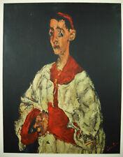 Chaïm SOUTINE (1894-1943) Enfant de chœur estampe expressionnisme modigliani