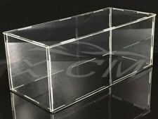 Car Model Assembled Transparent Acrylic Display Show Case 1:18 (Black Base)