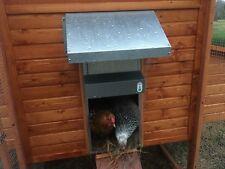 Automatic Chicken Door COMPLETE Coop Opener ADOR1 Galvanized Steel FREE BATTERY