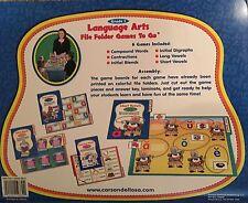 Language Arts File Folder Games to Go/Centers by Carson-Dellosa (GRADE 1)