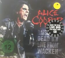 ALICE COOPER- RAISE THE DEAD: LIVE FROM WACKEN *CD/DVD *PZ NUOVO SIGILLATO RARO