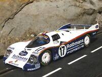 SLOT it PORSCHE 962 C Team ROTHMANS  in 1:32 auch für Carrera Evolution   SICW20