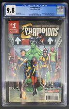 Champions #1 CGC 9.8 12/16 3826549014 - 1st team app and origin of the Champions