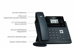 Yealink SIP-T40P Ultra-Elegant IP Phone Poe 3 Sip Accounts Optima HD Voice