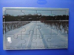 puzzle 12 pièce paysage neige