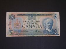 CANADA 1979 5 DOLLAR CIRCULATED BANKNOTE P-92a