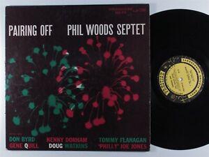 PHIL WOODS SEPTET Pairing Off PRESTIGE PRLP 7046 LP promo mono W. 50th ~