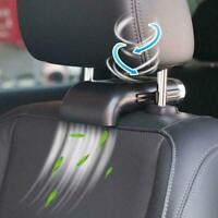 Car Fan for Back Seat USB Adjustable Electric Fan 3 Speed Foldable Silent Fan US