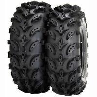 (2) Interco 24x11-10 24-11-10 Swamp Lite 6-Ply Rear Tires Kawasaki 610 Mule 4x4