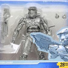 Halo 10th Anniversary Platinum Silver MASTER CHIEF Action Figure McFarlane 2011