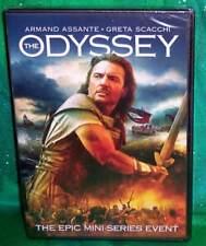 BRAND NEW ARMAND ASSANTE THE ODYSSEY COMPLETE MINI SERIES TV MOVIE DVD 1997