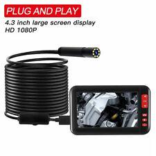 "Car Repair Tool 4.3"" HD 1080P Inspection Borescope Monitor Endoscope Camera Pipe"