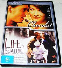 CHOCOLAT /  LIFE IS BEAUTIFUL --- (2 Dvd Set)