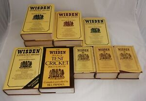 Wisden Cricket Books Including Anthology and Almanac - Great Selection