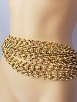"""Details about  /Tie On African Waist Beads Belly Chain 28/""""-50/"""" Jewelry Weight Controller"""