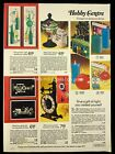 1973 Leisure Kits Wall Panel Glass Stain Candlemaking Print Advertising 526A