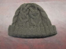 Ribbed Cashmere Wool Hat Skull Beanie Cable Knit Christopher Fischer Winter