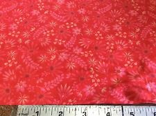 KONA BAY -HAPPY GARDEN #HAPP-05-RED TONAL- BY THE YARD