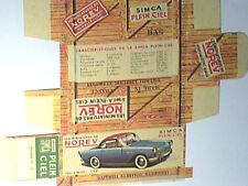 REFABRICATION BOITE SIMCA ARONDE PLEIN CIEL 1957 NOREV